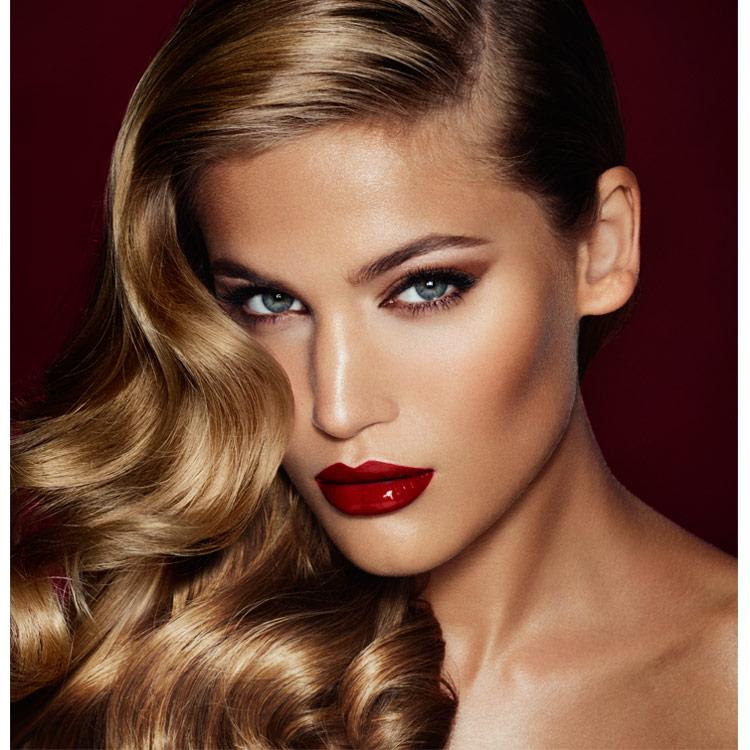 bombshell looks charlotte tilbury beauty charlottetilbury makeup hair glam signature skin eyes veronica lake wonderglow