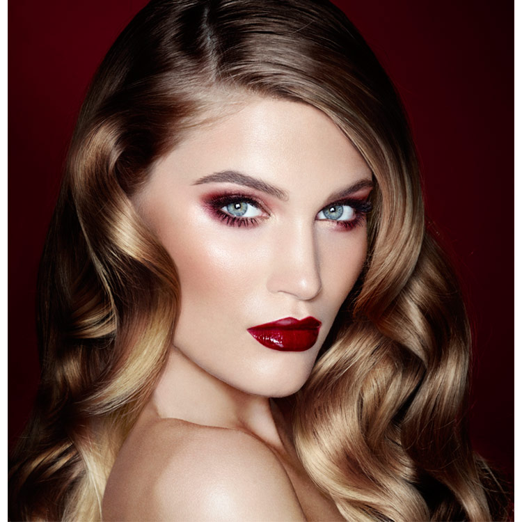 The Vintage Vamp Signature Look Charlotte Tilbury
