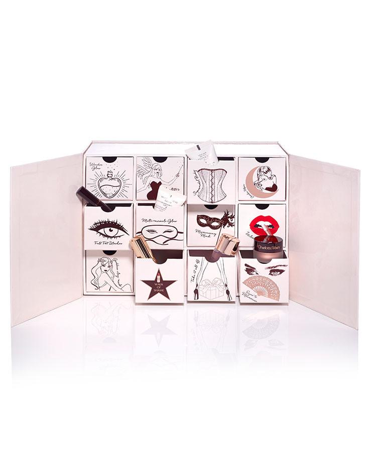 beauty advent calendar naughty nice magic box. Black Bedroom Furniture Sets. Home Design Ideas