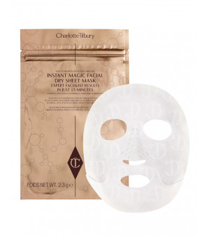 REVOLUTIONARY INSTANT MAGIC FACIAL DRY SHEET MASK