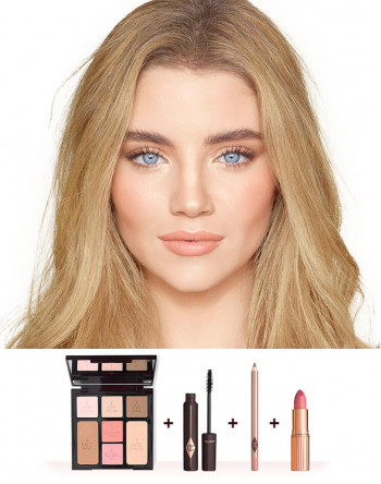 THE COMPLETE NATURAL, GLOWING LOOK