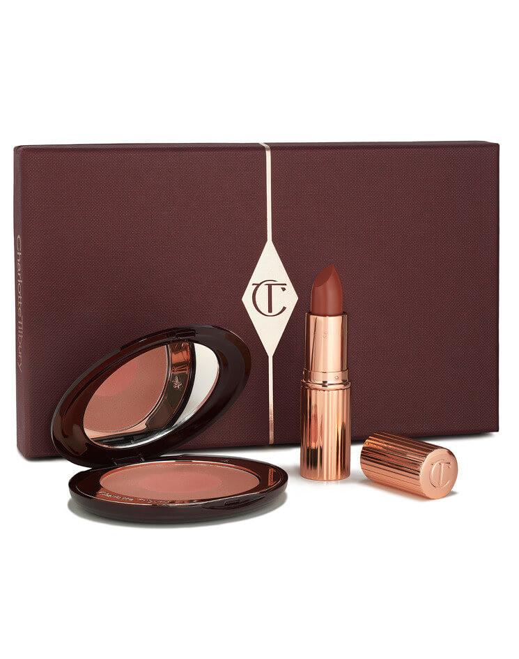 Lipstick & Blush Gift Set: Ecstasy