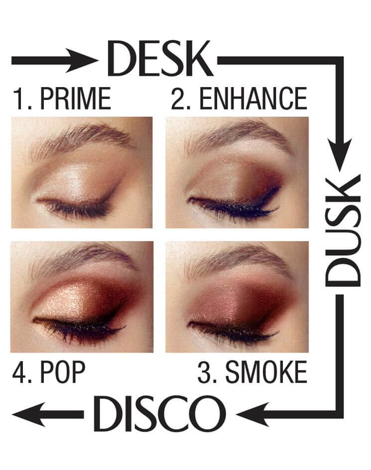 Gold Eyeshadow Palette The Golden Goddess Luxury Palette